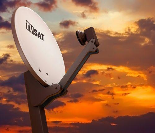 SAT-Anlagen Satellit